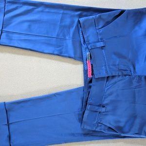 alice + Olivia bright blue size 2 pants